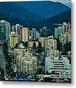 Vancouver Rooms With A View Metal Print