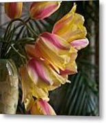 Vase Beauty Metal Print