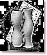 Vases Metal Print