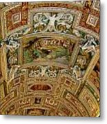 Vatican Ceiling Metal Print