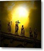 Vatican City Statues Vatican City Rome Italy Metal Print