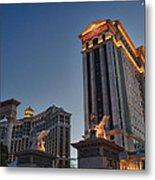 Vegas Moon Metal Print