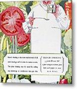 Vegetable Oil Ad, 1926 Metal Print