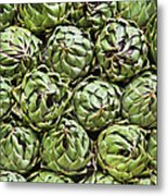 Vegetables In A Market In Lima, Peru Metal Print