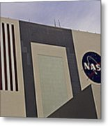 Vehicle Assembly Building Metal Print