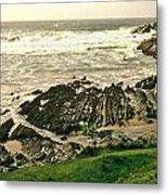 Velencia Island Shore Metal Print