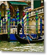 Venetian Colors Metal Print