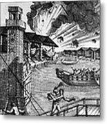 Venice: Arsenal, 1793 Metal Print