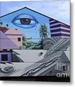 Venice Beach Wall Art 3 Metal Print