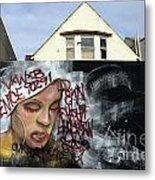 Venice Beach Wall Art 5 Metal Print