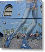 Venice Beach Wall Art 9 Metal Print