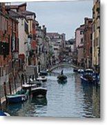 Venice Commuter Metal Print