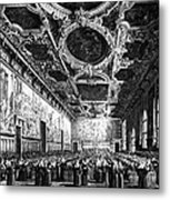 Venice: Doges Palace Metal Print