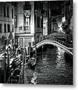 Venice Evening Metal Print
