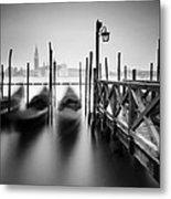 Venice Gondolas II Metal Print