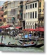 Venice Grand Canal 2 Metal Print