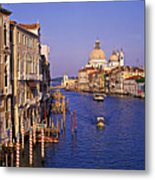 Venice, Grand Canal, Italy Metal Print
