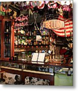 Venice Jazz Bar Metal Print
