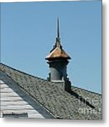 Vent On Barn Metal Print
