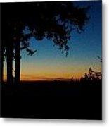 'ventana Sunset' Metal Print by PJQandFriends Photography