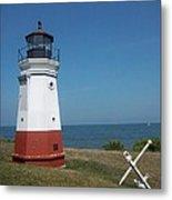 Vermillion Ohio Lighthouse Metal Print