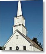 Vermont Church. Metal Print