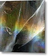 Vernal Falls Rainbow At Yosemite Metal Print