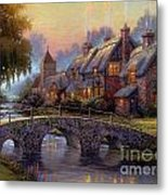 Verona Bridge Metal Print