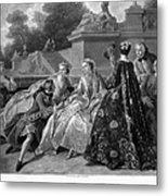 Versailles: Court Life Metal Print