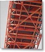Vertebrae Of The Bridge Metal Print