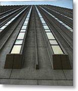 Vertical Reflections Metal Print