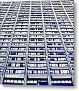 Vertical Urbanization Metal Print