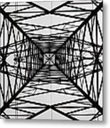 Vertical Voltages Metal Print