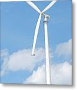 Vertical Windmill Metal Print