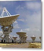 Very Large Array (vla) Radio Antennae Metal Print