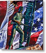 Veteran Warrior Metal Print