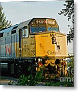 Via Rail Engine Metal Print