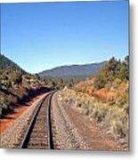 via Train 658 Metal Print