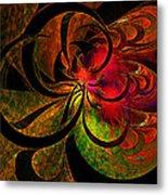 Vibrant Bloom Metal Print