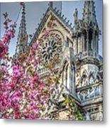 Vibrant Cathedral Metal Print