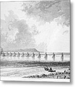 Victoria Bridge Metal Print