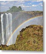 Victoria Falls Metal Print by Tony Beck