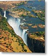 Victoria Falls, Zambia Metal Print
