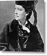 Victoria Woodhull 1838-1927, Early Metal Print