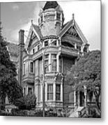 Victorian Haas Lilienthal House In San Francisco Metal Print