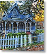 Victorian Home Marthas Vineyard Metal Print