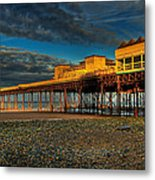Victorian Pier Metal Print by Adrian Evans