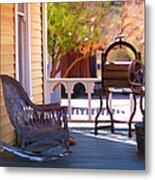 Victorian Porch Metal Print