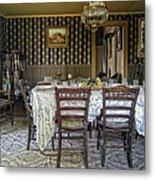 Victorian Sedman Home Dining Room - Nevada City Montana Metal Print