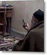 Video Still Of Al Qaedo Terrorist Metal Print by Everett